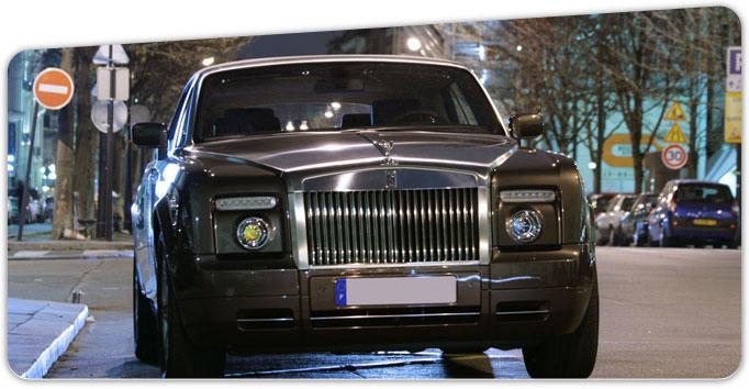 location voiture de luxe Paris rolls royce drophead