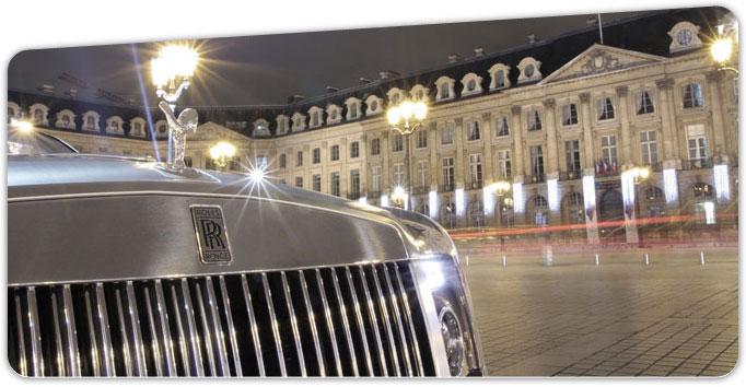 petermoss voiture de luxe Paris rolls royce drophead