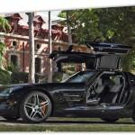 location auto de luxe SLS AMG