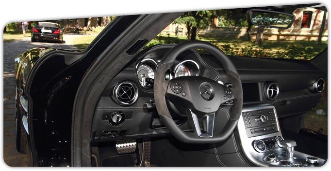 location voiture de luxe Paris SLS AMG